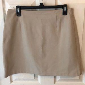 The Limited Khaki skirt size 10